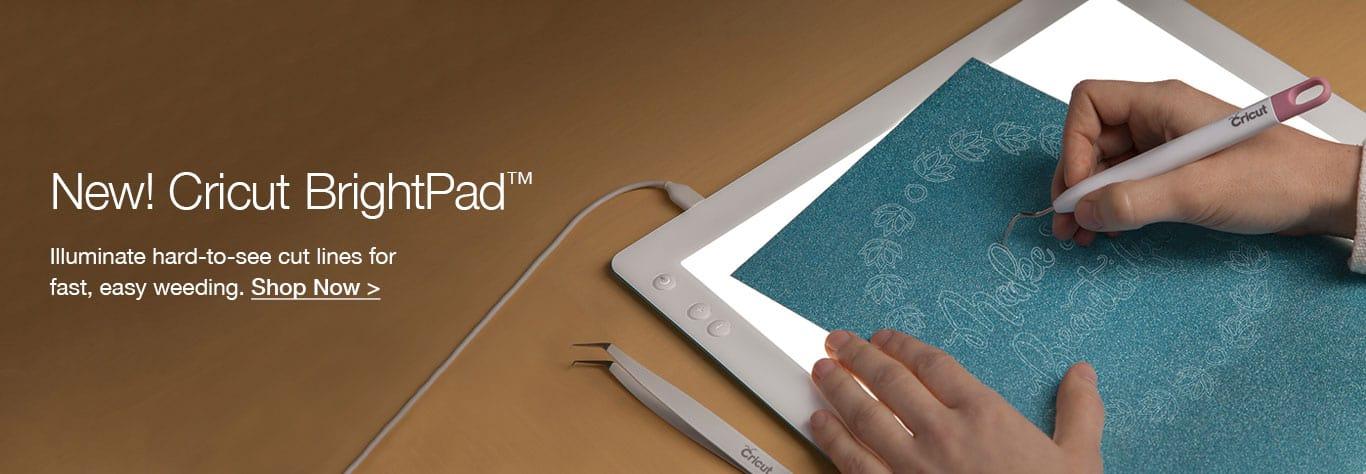 Cricut BrightPad Review - Reviewing Cricut's Crafting Tablet & Pad