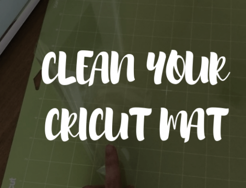 How To Clean Your Cricut Mat & Make Them Sticky Again