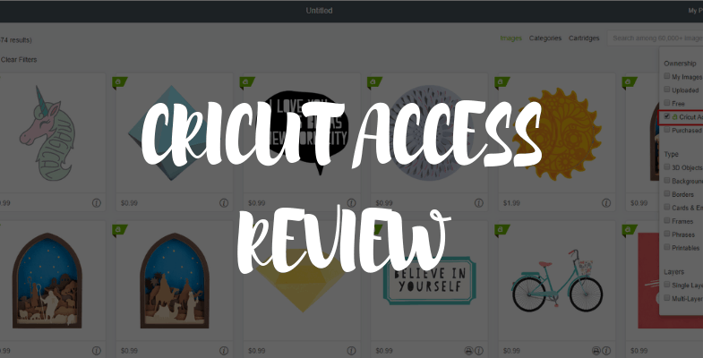 Cricut Access Review - Is This Service With The Price?