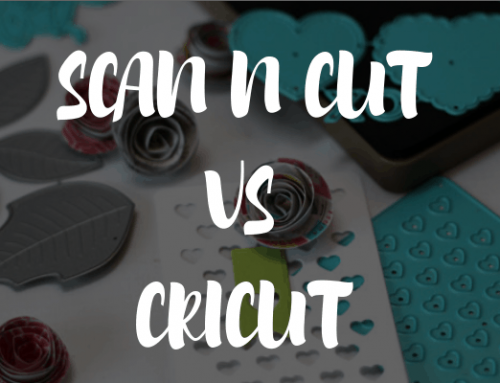 Brother ScanNCut vs The Cricut Machines