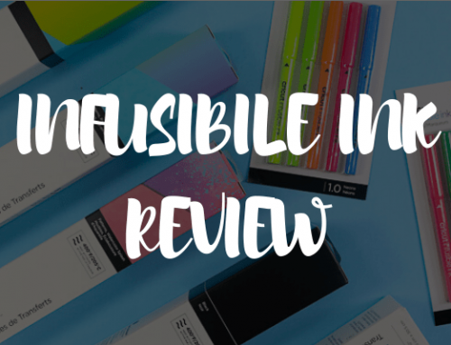 Cricut Infusible Ink Review